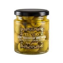 Olives Manzanilla avec noyau