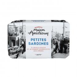 Petites sardines à l'huile d'olive et au piment d'Espelette
