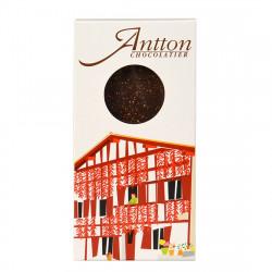 Chocolat noir au piment d'Espelette