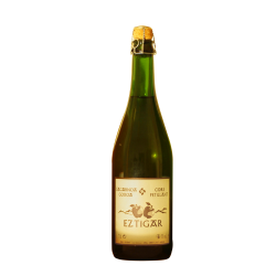 Cidre basque pétillant demi-sec