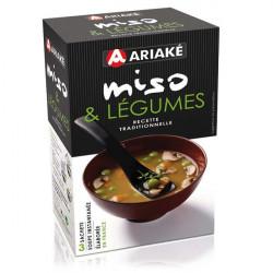 Soupe Miso et Légumes