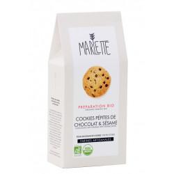 Préparation bio pour Cookies aux pépites de chocolat et sésame