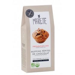 Préparation bio pour muffins aux pépites de chocolat sans gluten