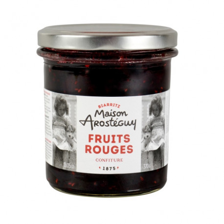 confiture de fruits rouges du pays basque maison arost guy. Black Bedroom Furniture Sets. Home Design Ideas