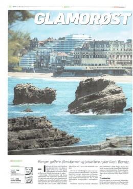 Article Biarritz Suédois