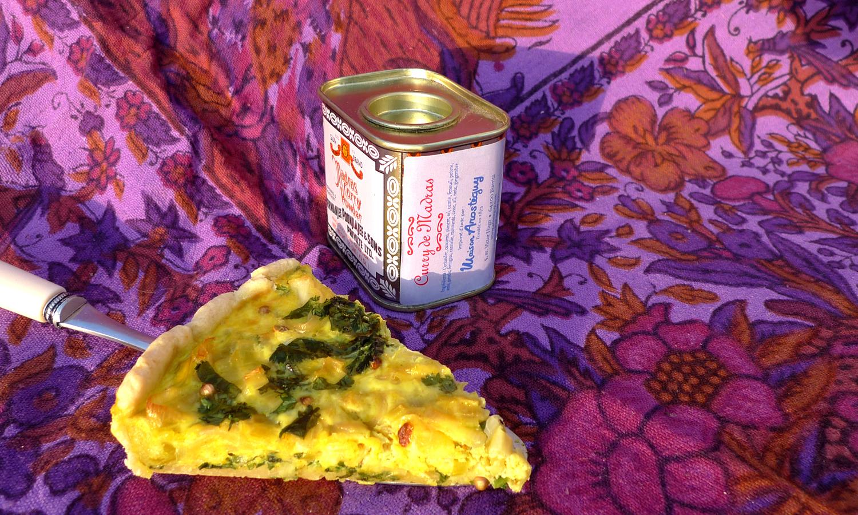 tarte poireaux curry madras