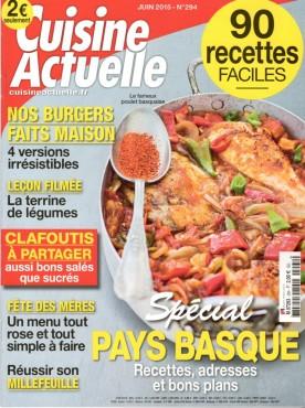 Cuisine Actuelle Juin 2015