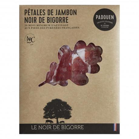 Jambon Noir de Bigorre en tranches