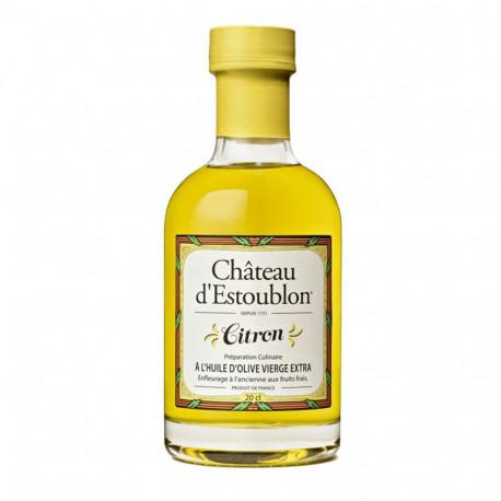 Huile d'olive vierge extra au citron