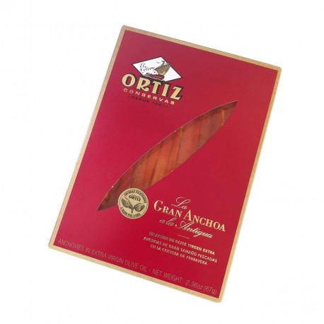 Grands anchois à l'huile d'olive