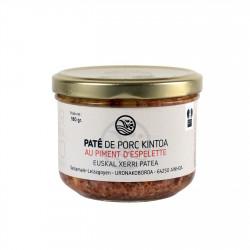 Pâté de porc Kintoa au piment d'Espelette