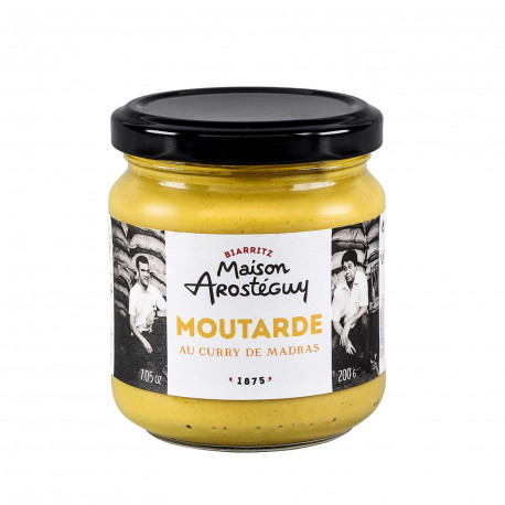 Moutarde au curry de Madras