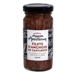 Filets d'anchois de Cantabrie à l'huile d'olive - Saveur fumée