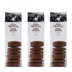 Sablés basques pur beurre au chocolat