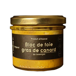 Bloc de foie gras de canard au Jurançon
