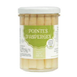 Pointes d'asperges blanches