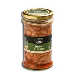 Haricots tarbais cuisinés à la graisse d'oie