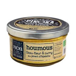 Houmous chou-fleur & curry au piment d'Espelette