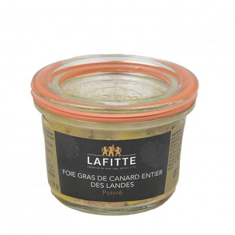 Foie gras de canard au poivre