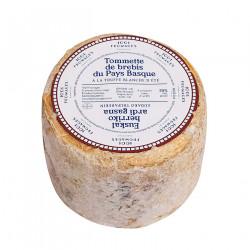Tommette de brebis du Pays Basque à la truffe blanche d'été