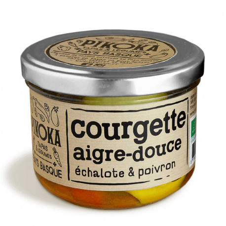 Courgette aigre-douce