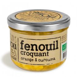 Fenouil, orange & curcula façon cornichons