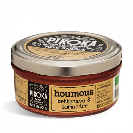 Houmous betterave & coriandre