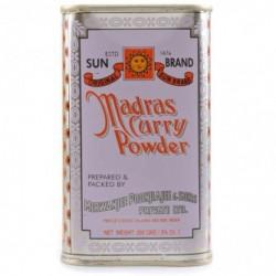 Curry de madras en poudre