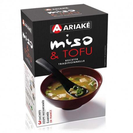 Soupe Miso et Tofu