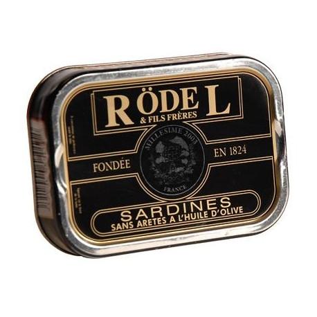 Sardines sans arêtes à l'huile d'olive