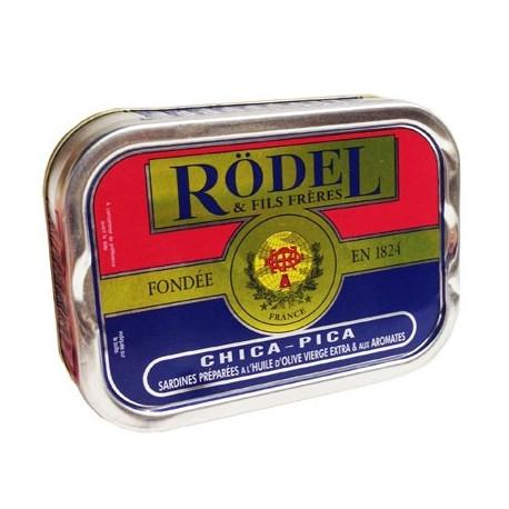 Sardines préparées aux aromates chica-pica