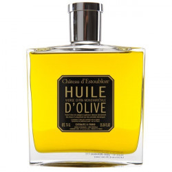 Huile d'olive flacon couture